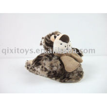 calçados infantis de pelúcia, chinelo interior de inverno suave