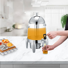Stainless Steel Bowl Juice Dispenser