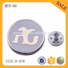 MFB86 Werbegeschenk benutzerdefinierte Zinn Abzeichen Pin Button Abzeichen mit Ihrem eigenen Logo