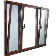 Profilé en aluminium double vitrage Side Hung Tilt and Turn Window