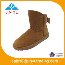 Hecho en China Zapato de la mujer del cargador de la nieve de la manera