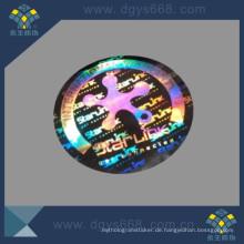3D Custom Logo Laser-Aufkleber
