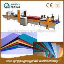 PUR Hot-melt pegamento máquina laminadora / palo decorar hoja / rollo en MDF / PB / PVC