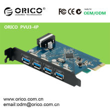 ORICO PVU3-4P usb3.0 multi port pci express card 4 ports/HUB