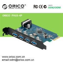 ORICO PVU3-4P usb3.0 multi port pci express card 4 portas / HUB