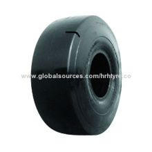 Smooth tires, used on loader, grab and dozer, with high quality