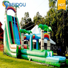 Factory Custom Outdoor Custom Cheap Giant Adult Inflatable Water Slide