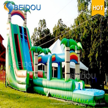 Factory Custom Outdoor Custom Cheap Giant Adult Gonflable Water Slide