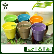 eco friendly biodegradable bamboo seeding pots