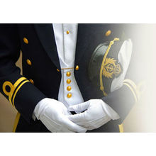 gants blancs coton bérets casquette