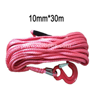 10mm 30m Red Winch Rope
