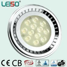 80ra con alto lúmenes Reemplazo 100W halógeno LED AR111 (J)
