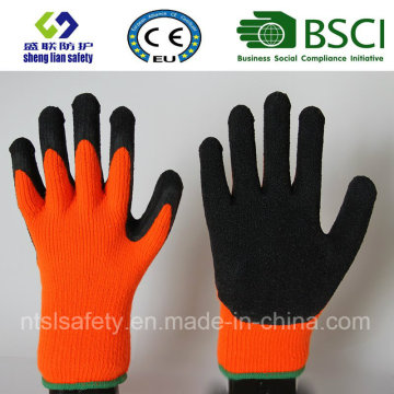 Nylon Latex Labor Protection Safety Gloves