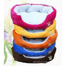 Cama de animal de estimação confortável e convertível com almofada removível
