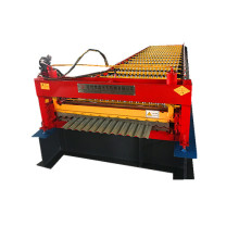 single roller corrugated roll forming machine