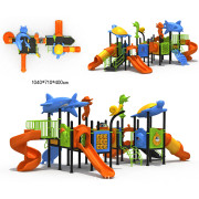 Lower Price Kids Outdoor Playground Equipment with CE Approved (YQL-0050012)