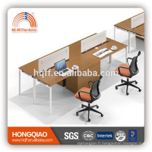 (MFC) PT-10 poste de travail moderne de bureau de conception pour le poste de travail de 2 personnes