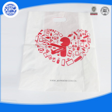 Printed custom made plastic shopping bag
