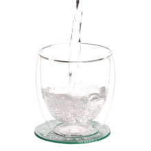 Double Wall Borosilicate Glass Mug For Water