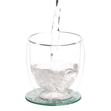 Double Wall Borosilicate Glass Mug For Water