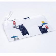 Petit sac cosmétique mignon imprimé par OEM personnalisé