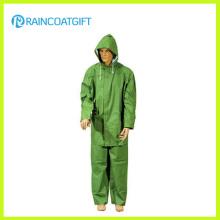 Vêtements de travail 2PCS de PVC Polyester PVC Men Rpp-035