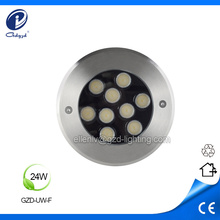 Low voltage 24W led underwater pond light