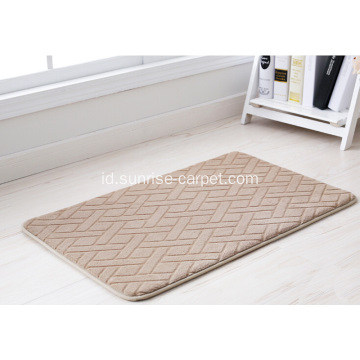 Polyester Flanel Carpet Bathmat
