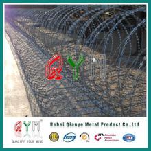 Galvanized Razor Wall Barrier