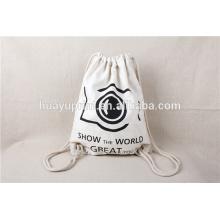 Пользовательские сумки DrawString, рюкзак DrawString, индивидуальные сумки для брезентового холста, рюкзаки из хлопковых мешков, хлопчатобумажные сумки, джутовый мешок