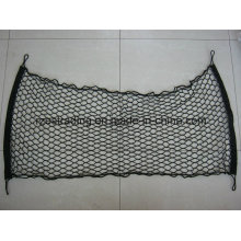 Black Dual Luggage Net with Bungee Cord Around