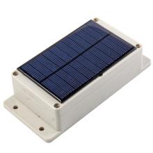 Perseguidor del remolque del GPS GSM con la batería grande de la capacidad 15000mA y el panel solar para la batería suplementaria