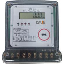 3-фазный 4-проводной электрический счетчик электроэнергии с мультитарифом