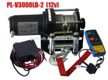 farm tractor electric winch 3000lbs for off road recovery