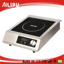 CE(EMC+LVD)/RoHS/ETL/cETL Push button & Knob Commercial Induction Cooktop Model Sm-A80