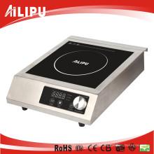 O ETL cETL aprovou o Cooktop comercial da indução 1800W 3500W com o controle Sm-A80 do botão