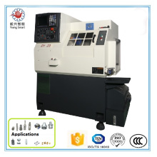 Precision By20c 4-Axis 3-20mm (Collet) , 100mm (Chuck) Diameter High Speed Gang Tool CNC Lathe Tools Machine
