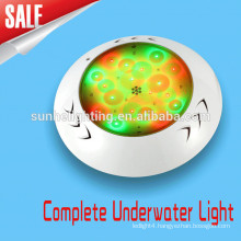 Stainless steel IP68 12v colorful led pool light waterproof swimming pool light
