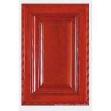 Porta de armário de cozinha de madeira sólida (HLsw-5)