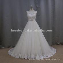 2016 Nouvelle collection Italie design sexy volant superposé belle aliexpress robes de mariée