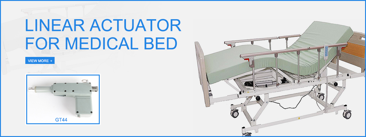 Actuator for hospital bed