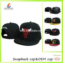 Hombres Bboy de las mujeres de los hombres capsula los sombreros de béisbol con los casquillos de encargo del casquillo del snapback del logotipo