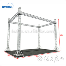 aluminum truss system,light bolt truss,spigot truss for trade show,stage,roof,tower