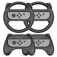 Controller Steering Wheel Hand Grip For Nintendo Switch