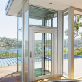 Building Small Home Villa Passenger Sightseeing Glass Lift Panoramic Elevator