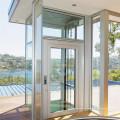 Small Glass Indoor Cost Villa Home Elevator