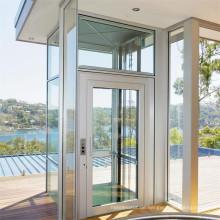Günstige Edelstahl Wohn-Outdoor-Glas Panorama-Aufzug