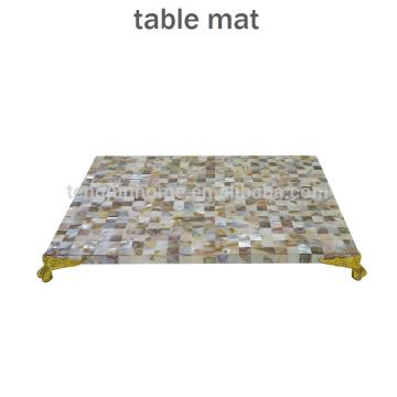 Décoration de table de nacre et de nacre étanche