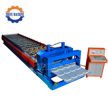 Zink Glazed Tile Roof Mold Machine / Roof Sheet Bend Machine