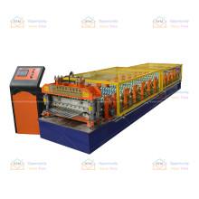 Cangzhou 2020 professional fully automatic customized corrugated roof sheet making machine